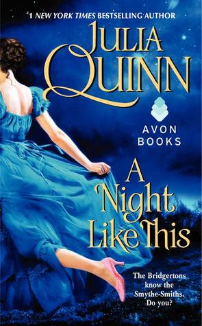 Post thumbnail of Review: A Night Like This by Julia Quinn