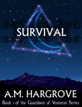 Survival,  YA Paranormal Romance (Book 1 of The Guardians of Vesturon)