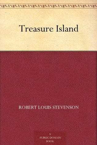 kindle / public domain cover image for Treasure Island