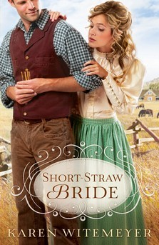 book cover Short Straw Bride by Karen Witemeyer