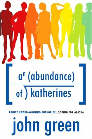 Book cover for An Abundance of Katherines by John Green