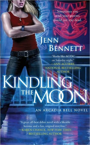 Kindling the Moon by Jenn Bennett (Arcadia Bell #1)