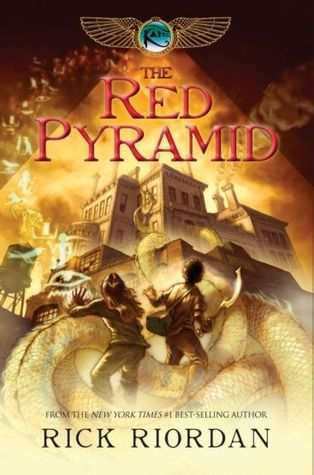 Book Review: The Red Pyramid (The Kane Chronicles, Book 1), By Rick Riordan Cover Art