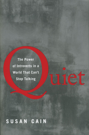book cover Quiet by Susan Cain