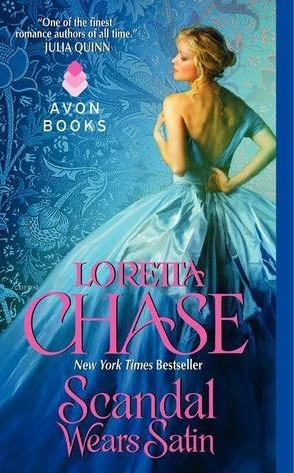 Post thumbnail of ARC Review: Scandal Wears Satin by Loretta Chase