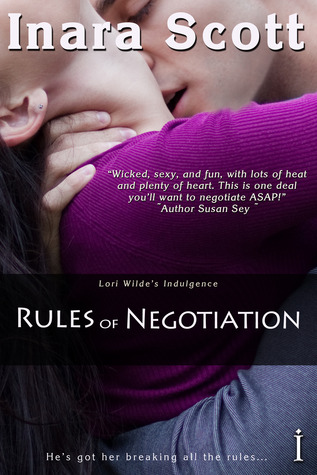 Post Thumbnail of Review: Rules of Negotiation by Inara Scott