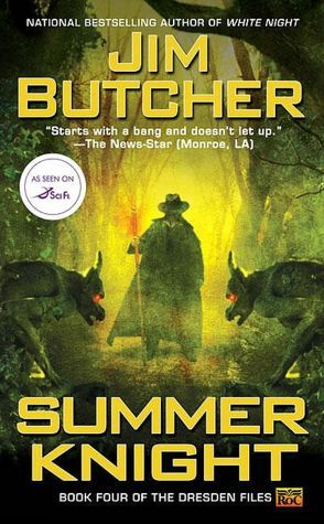 Book Review: Summer Knight (The Dresden Files, Book 4), By Jim Butcher Book Cover Art