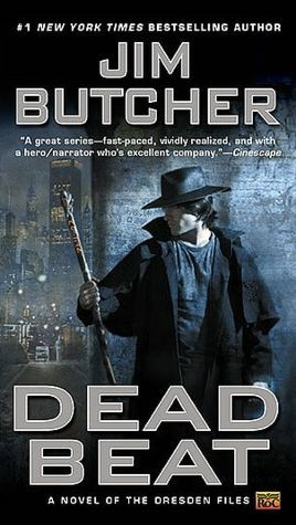 Series Review: Dead Beat (The Dresden Files, #7), By Jim Butcher Book Cover Art
