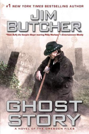 Series Review: Ghost Story (The Dresden Files, Book 13), By Jim Butcher Book Cover Art