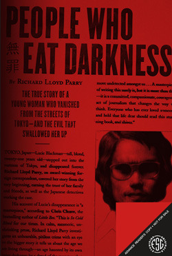 cover image for People Who Eat Darkness