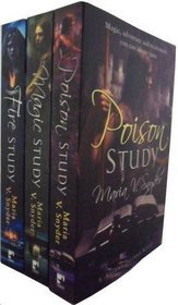Study Trilogy Collection: Poison Study, Magic Study, Fire Study