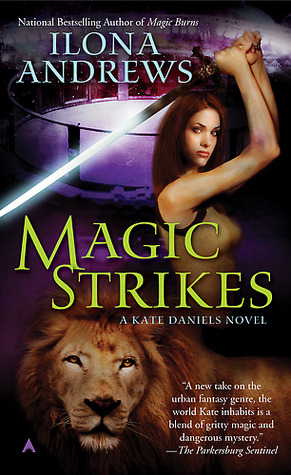 Joint Review with @soulswallo: Magic Strikes by Ilona Andrews