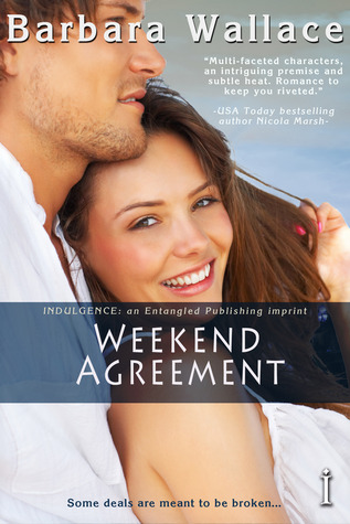 Post Thumbnail of Review: Weekend Agreement by Barbara Wallace