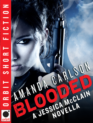 Post Thumbnail of Review: Blooded: A Jessica McClain Novella by Amanda Carlson