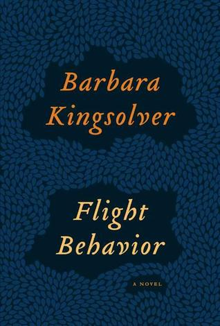 Book cover: Flight Behavior by Barbara Kingsolver