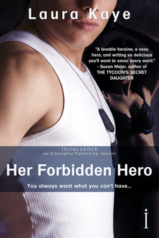 Post Thumbnail of Dual Review: Her Forbidden Hero by Laura Kaye