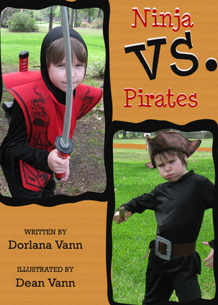 Ninja vs Pirates by Dorlana Vann