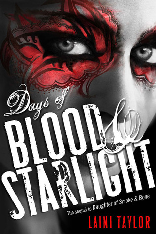 Cover Reveal: Days of Blood and Starlight by Laini Taylor