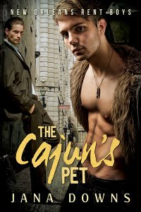The Cajun's Pet (New Orleans Rent Boys, #1)
