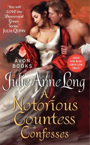 Post thumbnail of ARC-Review: A Notorious Countess Confesses by Julie Anne Long