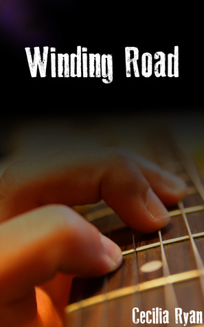 Winding Road cover, hand and guitar fret.