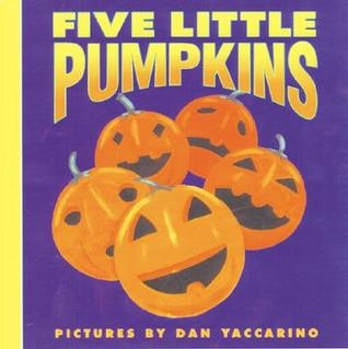 Five Little Pumpkins cover from goodreads.com