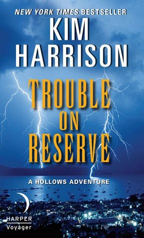 Cover for the Trouble on Reserve short story