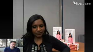 Goodreads Live with Mindy Kaling Part 2