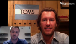 Goodreads Live with Blake Mycoskie