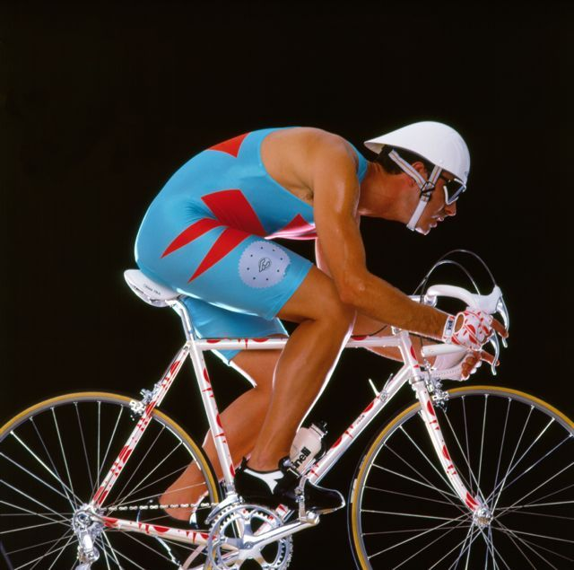 Bicycle and clothing designs by the design studio Alchimia, early 1980s. Courtesy Cinelli Archives.